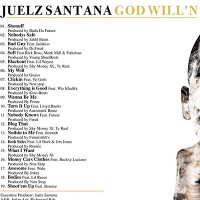 god-willn-tracklisting